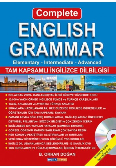 Complete English Grammar DVD'li