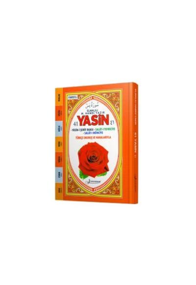 41 Yasin Türkçe Okunuş ve Manalarıyla Fihristli Çanta Boy Sert Kapak F042