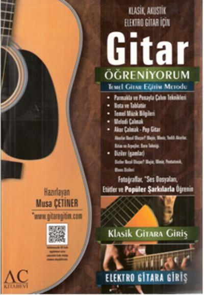 Gitar Öğreniyorum Temel Gitar Eğitim Metodu