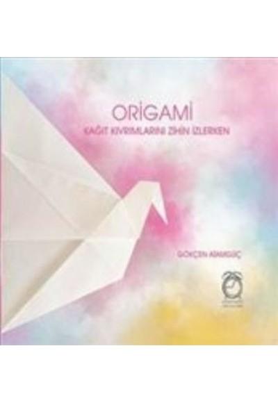 Origami Kağıt Kıvrımlarını Zihin İzlerken