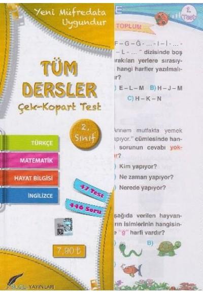 Bilgili 2. Sınıf Tüm Dersler Yaprak Test