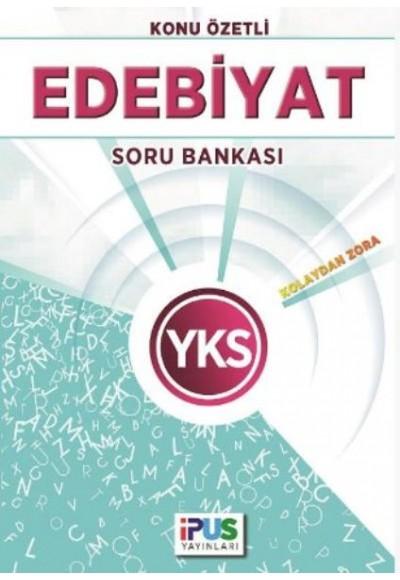 İpus YKS Edebiyat Konu Özetli Soru Bankası Kolaydan Zora