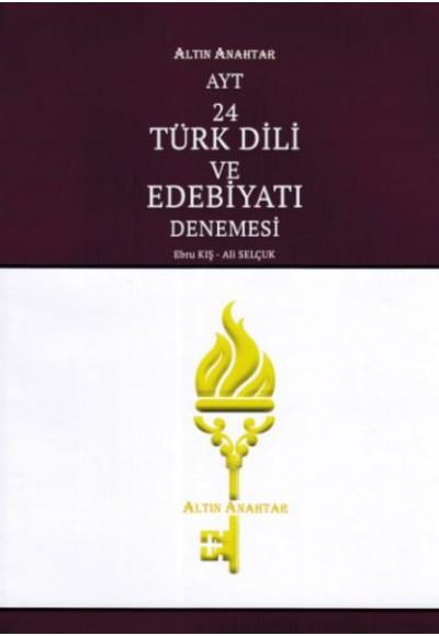 Altın Anahtar AYT Türk Dili ve Edebiyatı 24'lü Deneme  (Yeni)