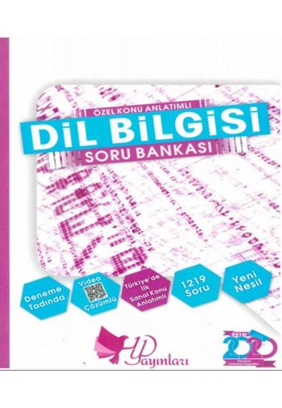 HYD Dil Bilgisi Soru Bankası 2020 Yeni
