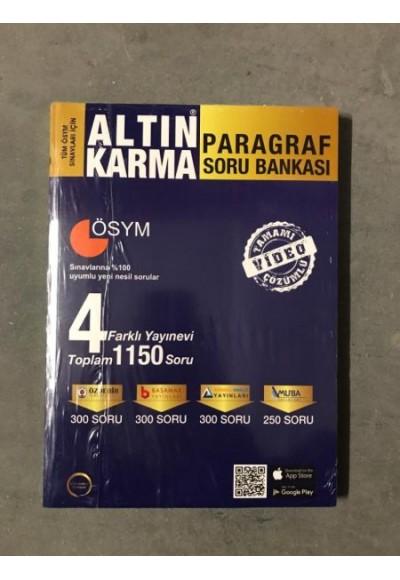 Altın Karma Paragraf Soru Bankası Yeni