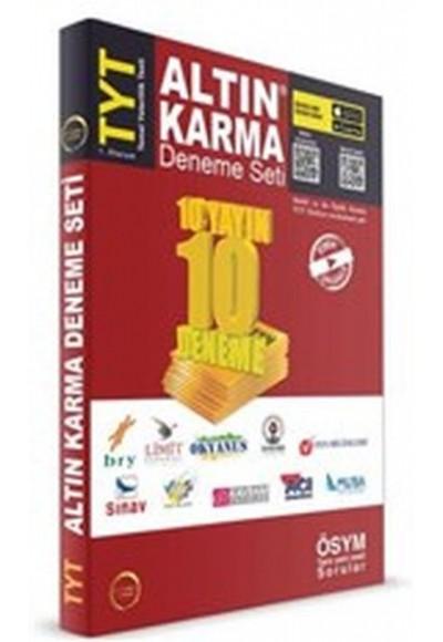 Altın Karma TYT 10 Deneme Seti 1. Oturum Yeni