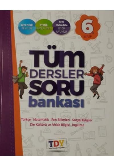 TDY 6.Sınıf Tüm Dersler Soru Bankası Yeni