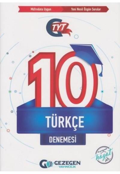 Gezegen TYT Türkçe 10 Denemesi Yeni