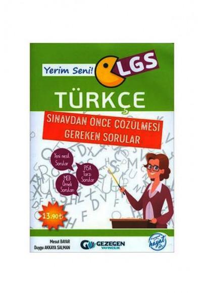 Gezegen Yerim Seni LGS Türkçe Yeni