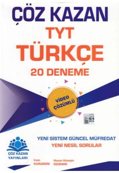 Çöz Kazan TYT Türkçe 20 Deneme Yeni