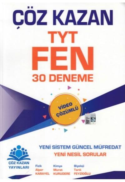 Çöz Kazan TYT Fen 30 Deneme Yeni