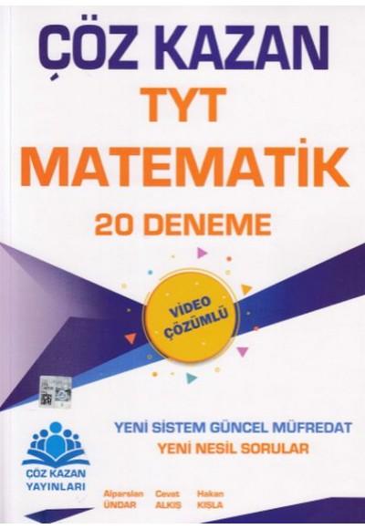 Çöz Kazan TYT Matematik 20 Deneme Yeni