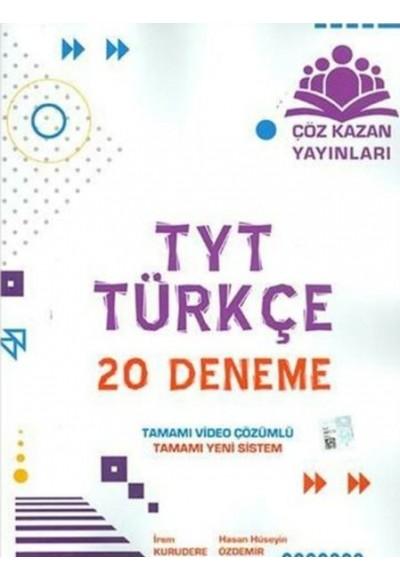Çöz Kazan TYT Türkçe 20 li Deneme Sınavı Yeni
