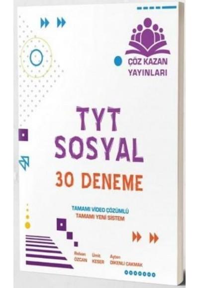Çöz Kazan TYT Sosyal Bilimler 30 lu Deneme Sınavı Yeni