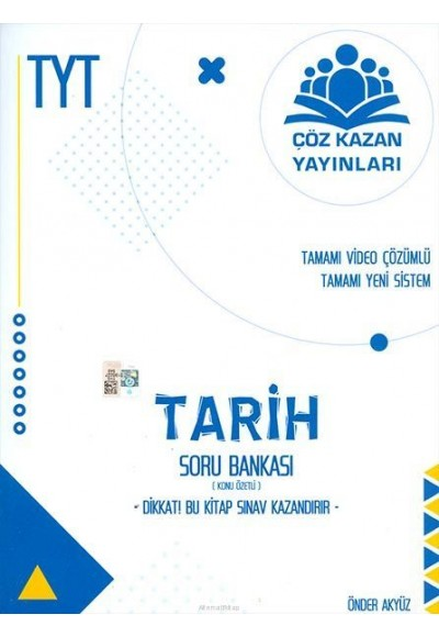 Çöz Kazan TYT Tarih Konu Özetli Soru Bankası (Yeni)