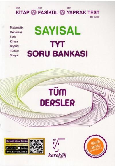 Karekök TYT Tüm Dersler Sayısal Soru Bankası Yeni