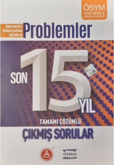 AYayınları Problemler Son 15 Yıl Tamamı Çözümlü Çıkmış Sorular