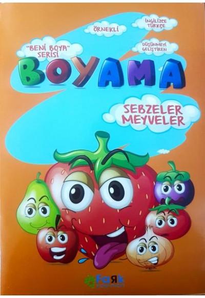 Beni Boya Serisi Sebzeler Meyveler