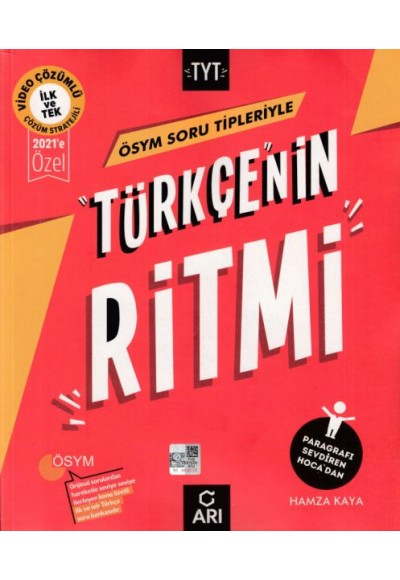 Arı ÖSYM Soru Tipleriyle TYT Türkçenin Ritmi Soru Bankası 2021'e Özel (Yeni)