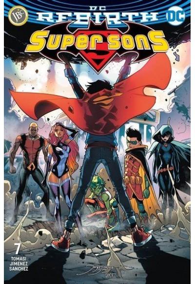 Super Sons Sayı 7(DC Rebirth)