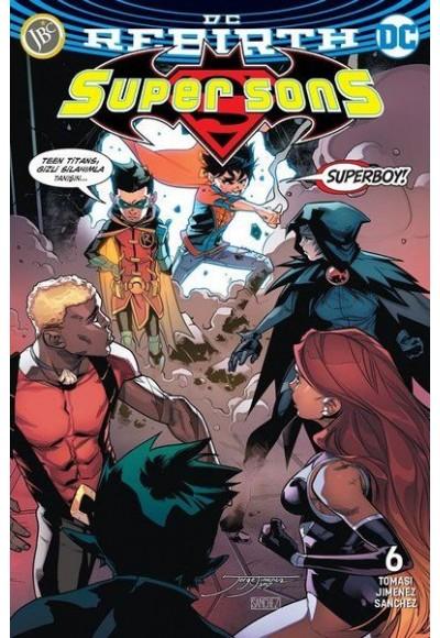 Super Sons Sayı 6 (DC Rebirth)