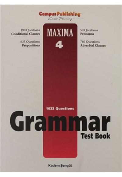 Grammar Test Book - Maxima 4