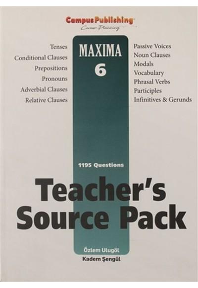 Teacher's Source Pack - Maxima 6