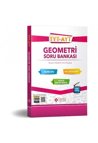 Sonuç TYT AYT Geometri Soru Bankası 2019 2020 Yeni