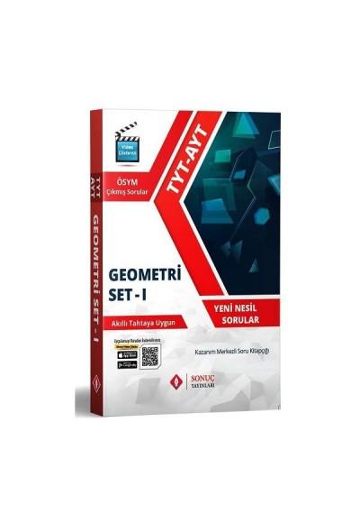 Sonuç TYT AYT Geometri Set 1 Kazanım Merkezli Soru Bankası (Yeni)