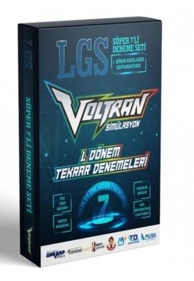 Ankara Yayıncılık 8. Sınıf LGS 1. Dönem Voltran 7 Deneme Seti