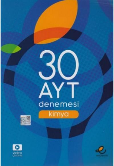 Endemik Yayınları AYT Kimya 30 Denemesi (Yeni)