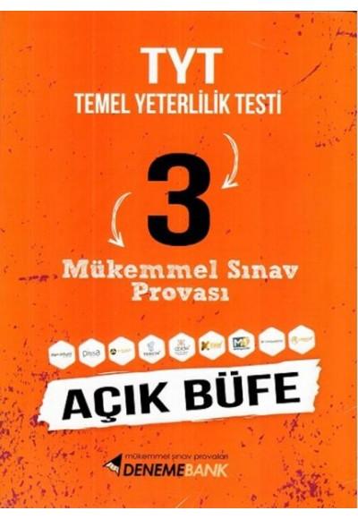 DenemeBank AYT Açık Büfe 3 Mükemmel Sınav Provası