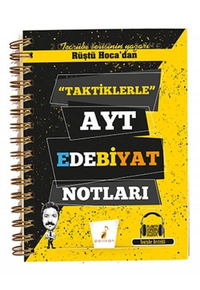 Rüştü Hocadan Taktiklerle AYT Edebiyat Notları