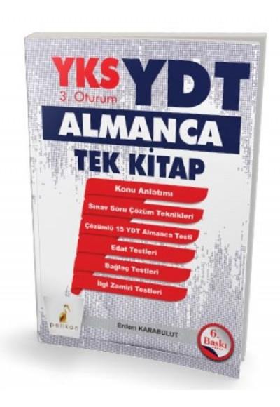 Pelikan YKS 3.Oturum YDT Almanca Tek Kitap Yeni