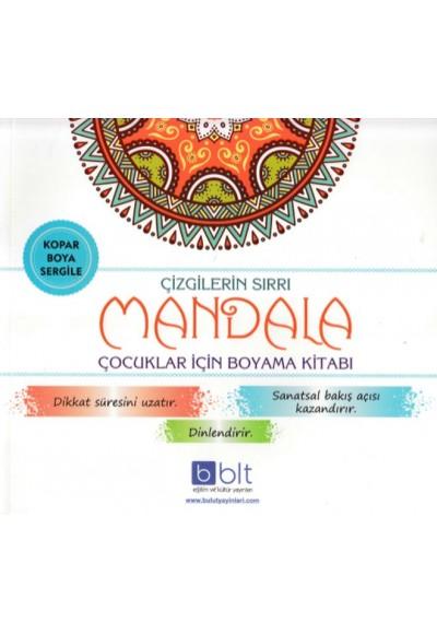 Çizgilerin Sırrı Mandala Çocuklar İçin Boyama Kitabı
