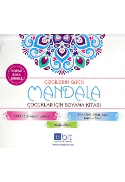Çizgilerin Gücü Mandala Çocuklar İçin Boyama Kitabı