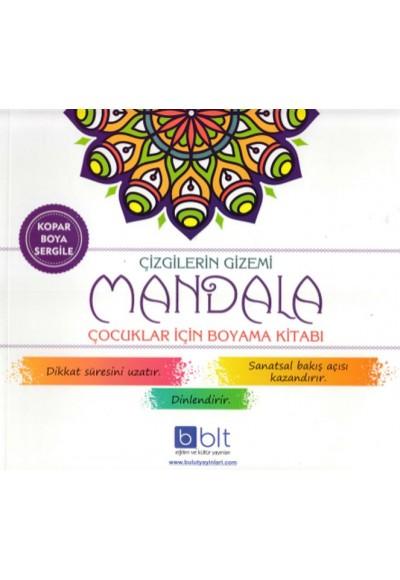 Çizgilerin Gizemi Mandala Çocuklar İçin Boyama Kitabı