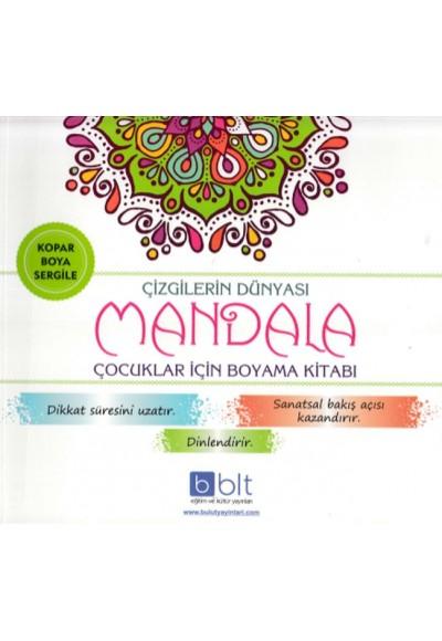 Çizgilerin Dünyası Mandala Çocuklar İçin Boyama Kitabı