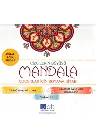 Çizgilerin Büyüsü Mandala Çocuklar İçin Boyama Kitabı