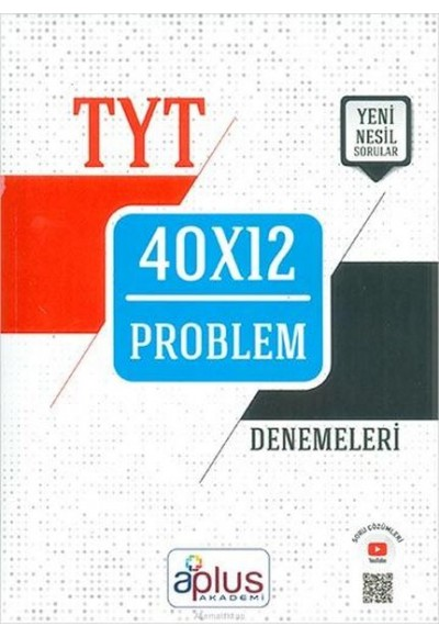 APlus TYT Problem 40X12 Denemeleri