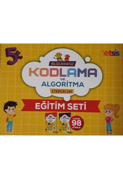 Çocuklar İçin Bilgisayarsız Kodlama ve Algoritma Etkinlikleri Eğitim Seti (Kutulu)