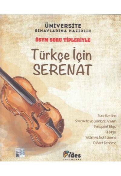 Fides ÖSYM Soru Tipleriyle Türkçe İçin Serenat Yeni