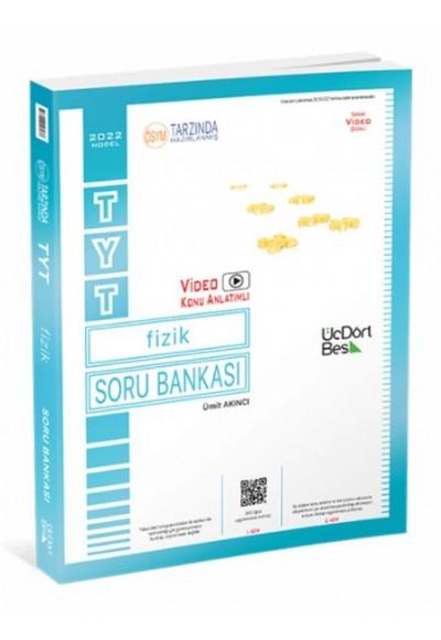 ÜçDörtBeş TYT Fizik Soru Bankası Yeni