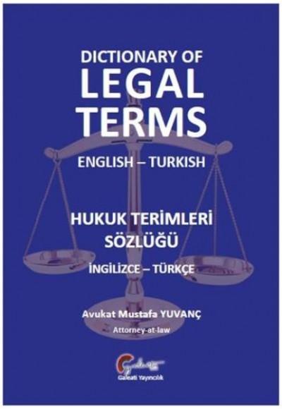 Hukuk Terimleri Sözlüğü İngilizce Türkçe