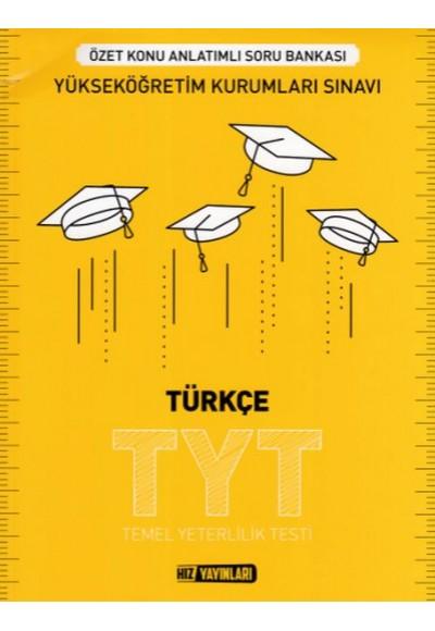 Hız TYT Türkçe Özet Konu Anlatımlı Soru Bankası Yeni