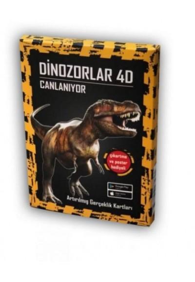 Dinozorlar 4D Canlanıyor Artırılmış Gerçeklik Kartları