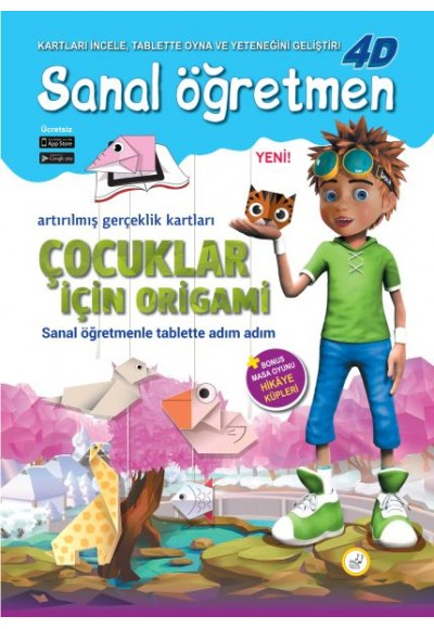 Danik Sanal Öğretmen Çocuklar için Origami