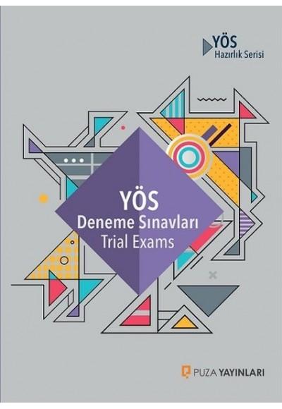 Puza YÖS Deneme Sınavları Trial Exams İADESİZ