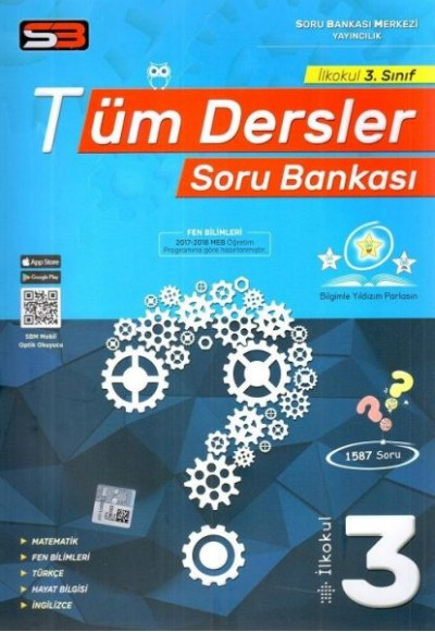 SBM 3. Sınıf Tüm Dersler Soru Bankası Yeni