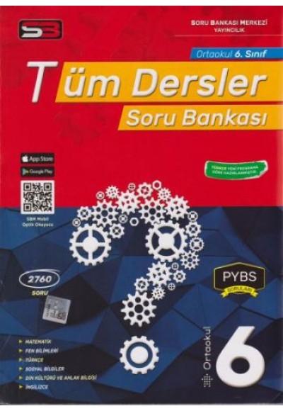 SBM 6. Sınıf Tüm Dersler Soru Bankası Yeni